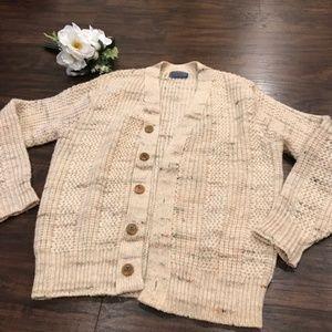vintage 1960 Pendleton virgin wool button cardigan